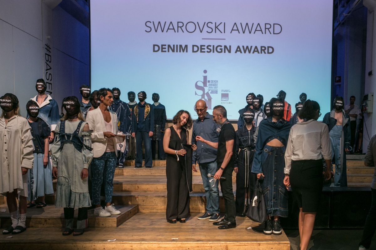 Winner of The Swarovski Award - Giulia Masciangelo from Naba