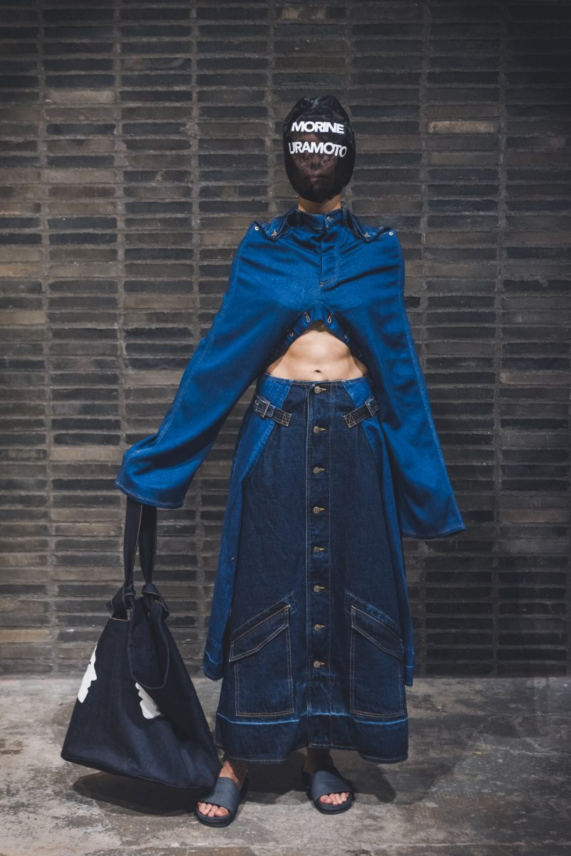 Morine Uramoto from Bunka Fashion College - Denim Design Award