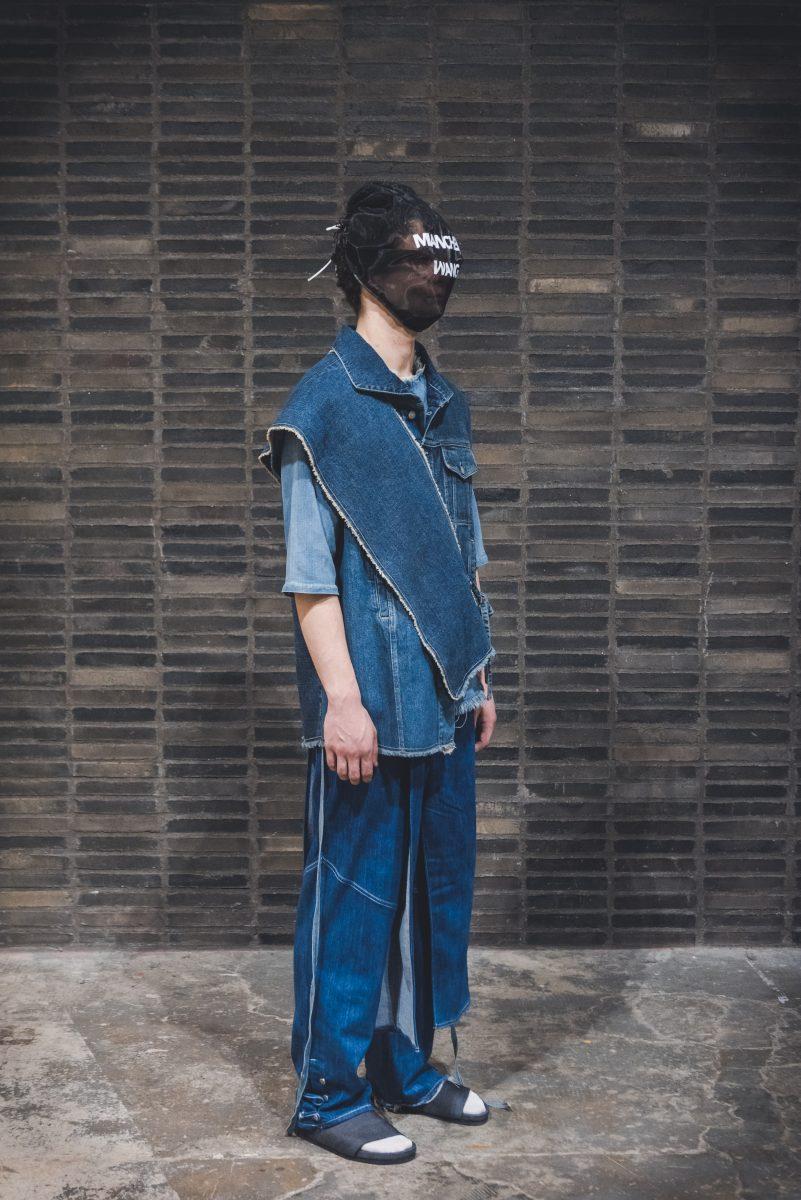 Mianchen Wang from Chelsea UAL - Denim Design Award