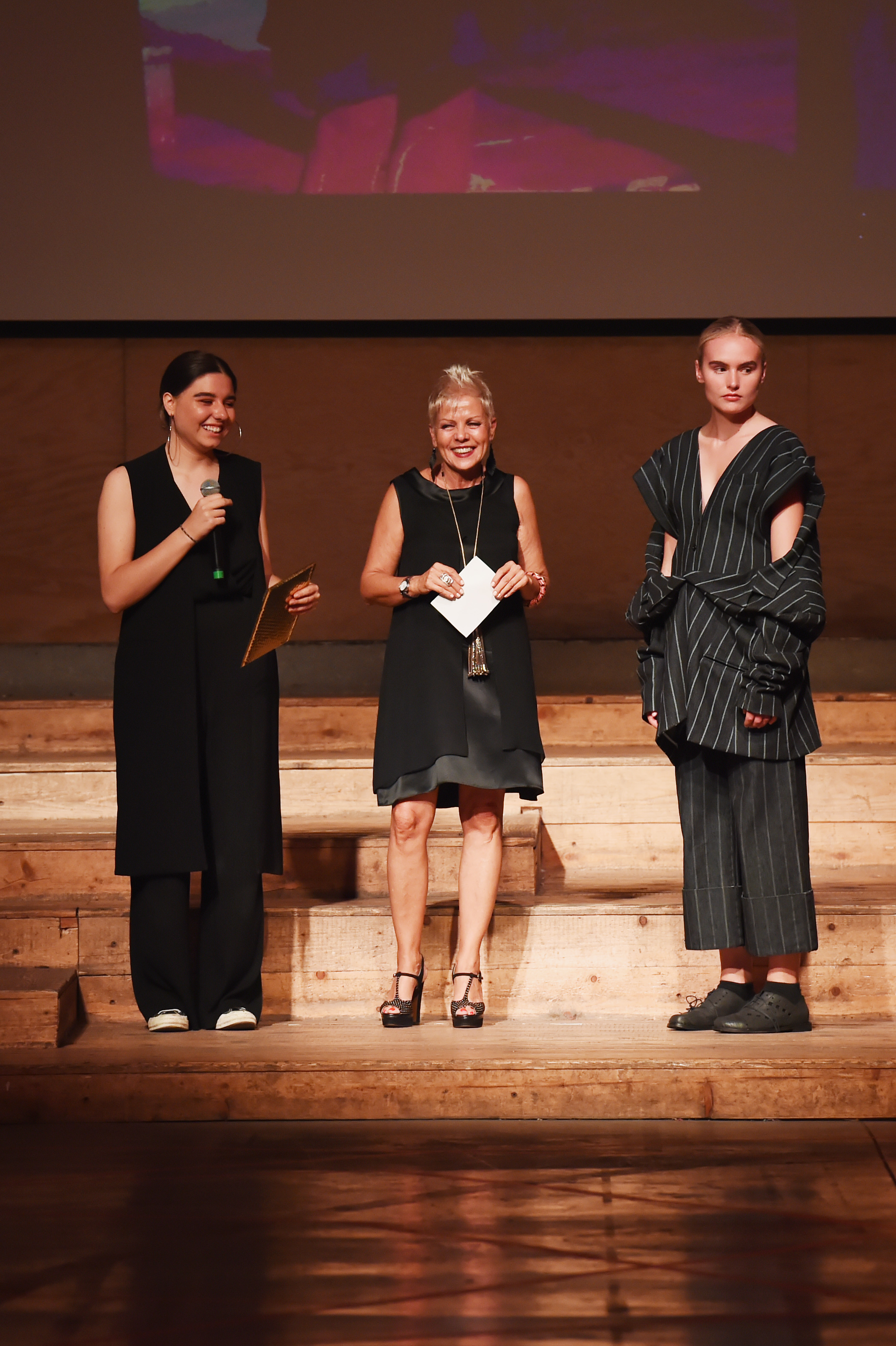 Winner of the Lectra Award, of the Denim Design Award, Maria Capellaro from NABA - Nuova Accademia d