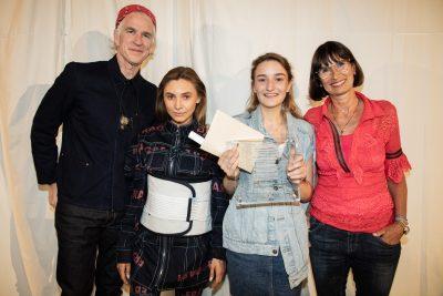 Irene De Vecchi - Winner of the Reca Award - with