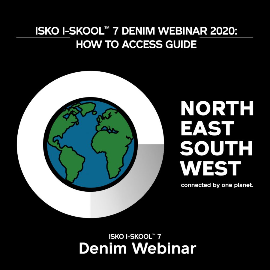 ISKO I-SKOOL™ 7 presents the Denim Webinar - denim education -news